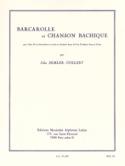 Barcarolle Et Chanson Bachique Jules Semler-Collery laflutedepan.com