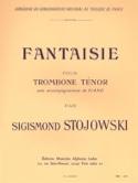 Fantaisie Sigismond Stojowski Partition Trombone - laflutedepan.com