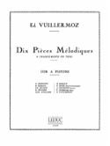 10 Pièces Mélodiques Ed. Vuillermoz Partition Cor - laflutedepan.com