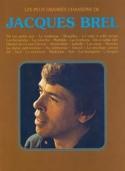 Les plus grandes chansons - 26 Succès Jacques Brel laflutedepan.com