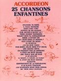 25 Chansons Enfantines Partition Accordéon - laflutedepan.com