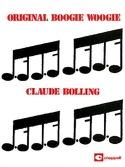 Original Boogie Woogie Claude Bolling Partition laflutedepan.com