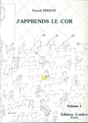 J'apprends le Cor - Volume 1 Pascal Proust Partition laflutedepan