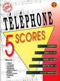 5 Scores Volume 2 Téléphone Partition laflutedepan.com