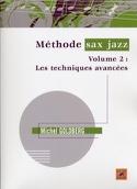 Méthode sax jazz volume 2 Michel Goldberg Partition laflutedepan.com