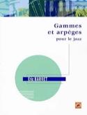Gammes et Arpèges pour le Jazz Eric Barret Partition laflutedepan.com