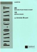 20 Succès, 10 Monologues - Aristide Bruant - laflutedepan.com