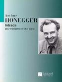 Intrada Arthur Honegger Partition Trompette - laflutedepan.com