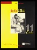 11 Etudes Martial Solal Partition Jazz - laflutedepan.com