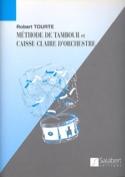 Méthode de Tambour Et Caisse-Claire Robert Tourte laflutedepan.com