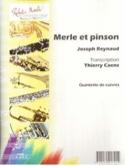 Merle et Pinson - Joseph Reynaud - Partition - laflutedepan.com