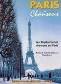 Paris ses chansons Partition Chansons françaises - laflutedepan.com