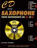 CD au saxophone Mib et Sib Didier Villetorte laflutedepan.com