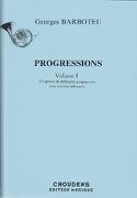 Progressions Volume 1 Georges Barboteu Partition laflutedepan.com