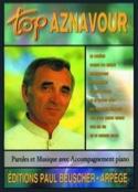 Top Aznavour Charles Aznavour Partition laflutedepan.com