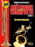 Méthode de Trompette Livre 1 Harold Mitchell laflutedepan.com
