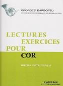Lectures Exercices Pour Cor Georges Barboteu laflutedepan.com