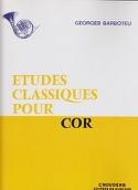 Etudes Classiques Georges Barboteu Partition Cor - laflutedepan.com