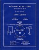 Méthode de batterie Volume 2 Dante Agostini Partition laflutedepan.com