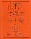 Méthode de batterie volume 4 Dante Agostini Partition laflutedepan.com
