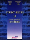 Study-Tests - 35 Pièces Solos & Epreuves de Batterie laflutedepan.com