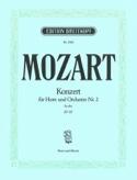 Concerto pour Cor N° 2 KV 417 MOZART Partition Cor - laflutedepan.com