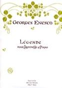Légende - Georges Enesco - Partition - Trompette - laflutedepan.com