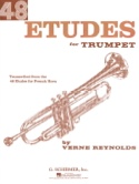 48 Etudes Verne Reynolds Partition Trompette - laflutedepan.com