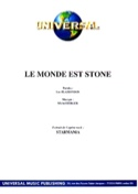 Le Monde Est Stone Starmania Berger M. / Plamondon L. laflutedepan.com