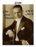 Etude Opus 11 N° 4 Clair Omar Musser Partition laflutedepan.com