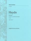 Concerto pour cor N° 2 en ré Majeur HAYDN Partition laflutedepan.com