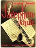 Méthode de Saxophone Gustave Bumcke Partition laflutedepan.com