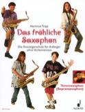 Das Fröhliche Saxophon Hartmut Tripp Partition laflutedepan.com