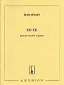 Suite Jean Aubain Partition Multi Percussions - laflutedepan.com
