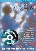 A vous de chanter vocal hommes volume 1 Partition laflutedepan.com