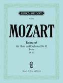Konzert Nr. 3 Es-Dur K.V. 447 MOZART Partition Cor - laflutedepan.com
