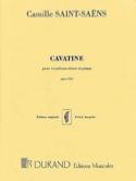 Cavatine - Camille Saint-Saëns - Partition - laflutedepan.com