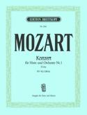 Concerto pour cor n° 1 D-Dur KV 412 386b MOZART laflutedepan.com