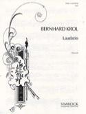 Laudatio Bernhard Krol Partition Cor - laflutedepan.com