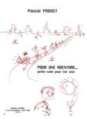 Pour une aventure.... Pascal Proust Partition Cor - laflutedepan.com