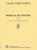 Morceau de Concert Opus 94 Camille Saint-Saëns laflutedepan.com