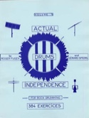 Actual Drums Independence Volume 1 laflutedepan.com