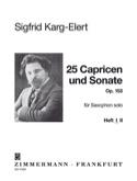 25 Capricen & Sonate Opus 153 - Volume 1 laflutedepan.com