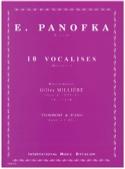10 Vocalises E. Panofka Partition Trombone - laflutedepan.com