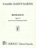 Romance Opus 36 Camille Saint-Saëns Partition Cor - laflutedepan.com