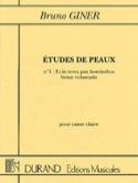 Etudes de peaux n° 1 - et in terra pax hominibus bonae voluntatis laflutedepan.com