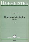 60 Ausgewählte Etüden Für Horn Heft 1 Georg Kopprasch laflutedepan.com