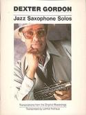 Jazz Saxophone Solos Dexter Gordon Partition laflutedepan.com