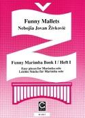 Funny Marimba Volume 1 Nebojsa jovan Zivkovic laflutedepan.com