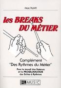 Les Breaks du Métier Marc Ruimy Partition Batterie - laflutedepan.com